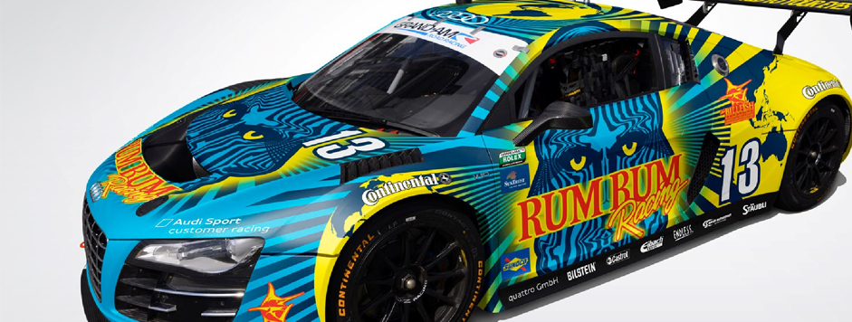Rum Bum Racing Reveals 2013 Rolex 24 Livery