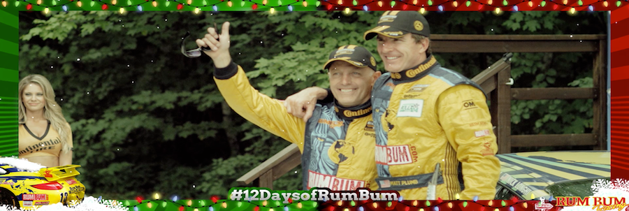 Rum Bum Racing Christmas 12 DAYS OF RUM BUM