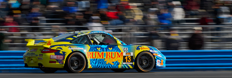Leading Late, Rum Bum Racing Suffers Late Stumble at Daytona