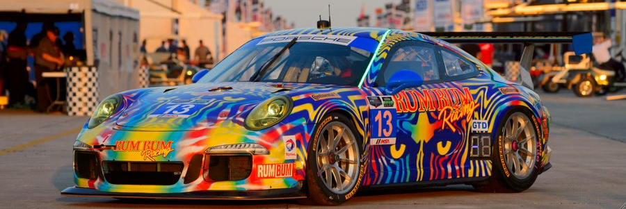 First Look: Rum Bum Racing Porsche GT America