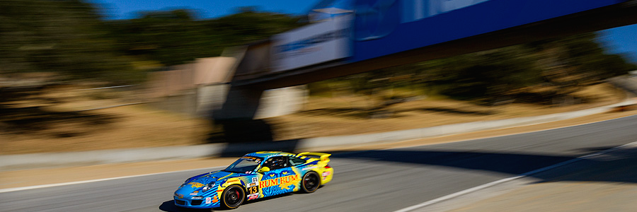 Top-Five Finish for Rum Bum Racing at Mazda Raceway Laguna Seca